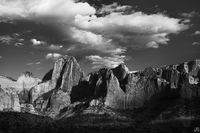 Afternoon Clouds Over Kolob Canyon