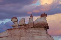 Arizona, sandstone, sunset, clouds