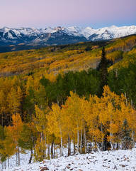 Colorado, snow, autumn, Castles, Ohio Pass, Elk Mountains,