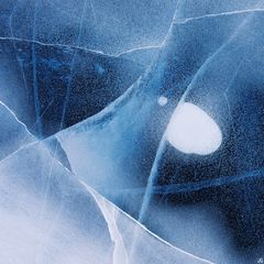 Colorado, Dream Lake, Rocky Mountain National Park, abstract, ice, ice pattern, frozen