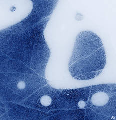 Colorado, Dream Lake, Rocky Mountain National Park, abstract, ice, ice pattern, frozen, Picaso