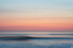 California, La Jolla, San Diego, sunset, coast, swell