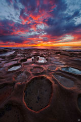 California,San Diego,La Jolla,sunset,coast,