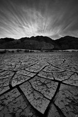 death valley, sunset, cracks, tiles, textures, sand dunes