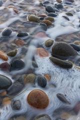 california, encinitas, whitewater, rocks, sand, nature