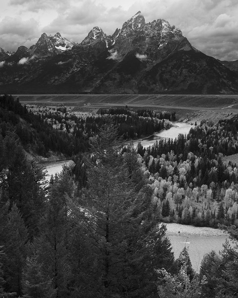 The Snake River winds it way through Grand Teton National Park.