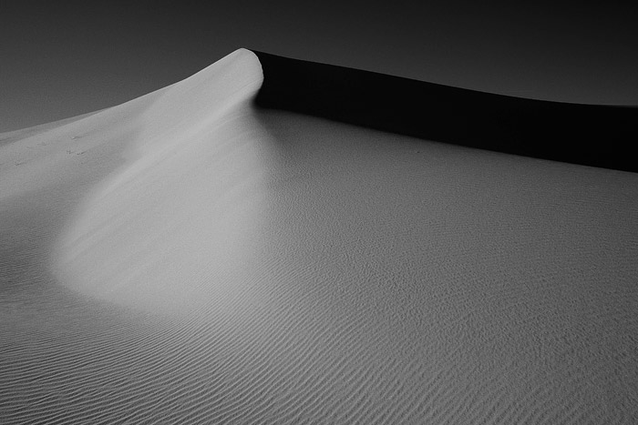 Death Valley, sand, dunes, shadow, sunrise, photo