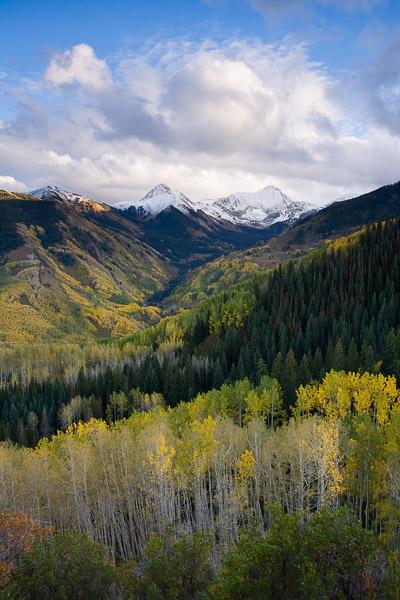 Early autumn beneath Capitol Peak.