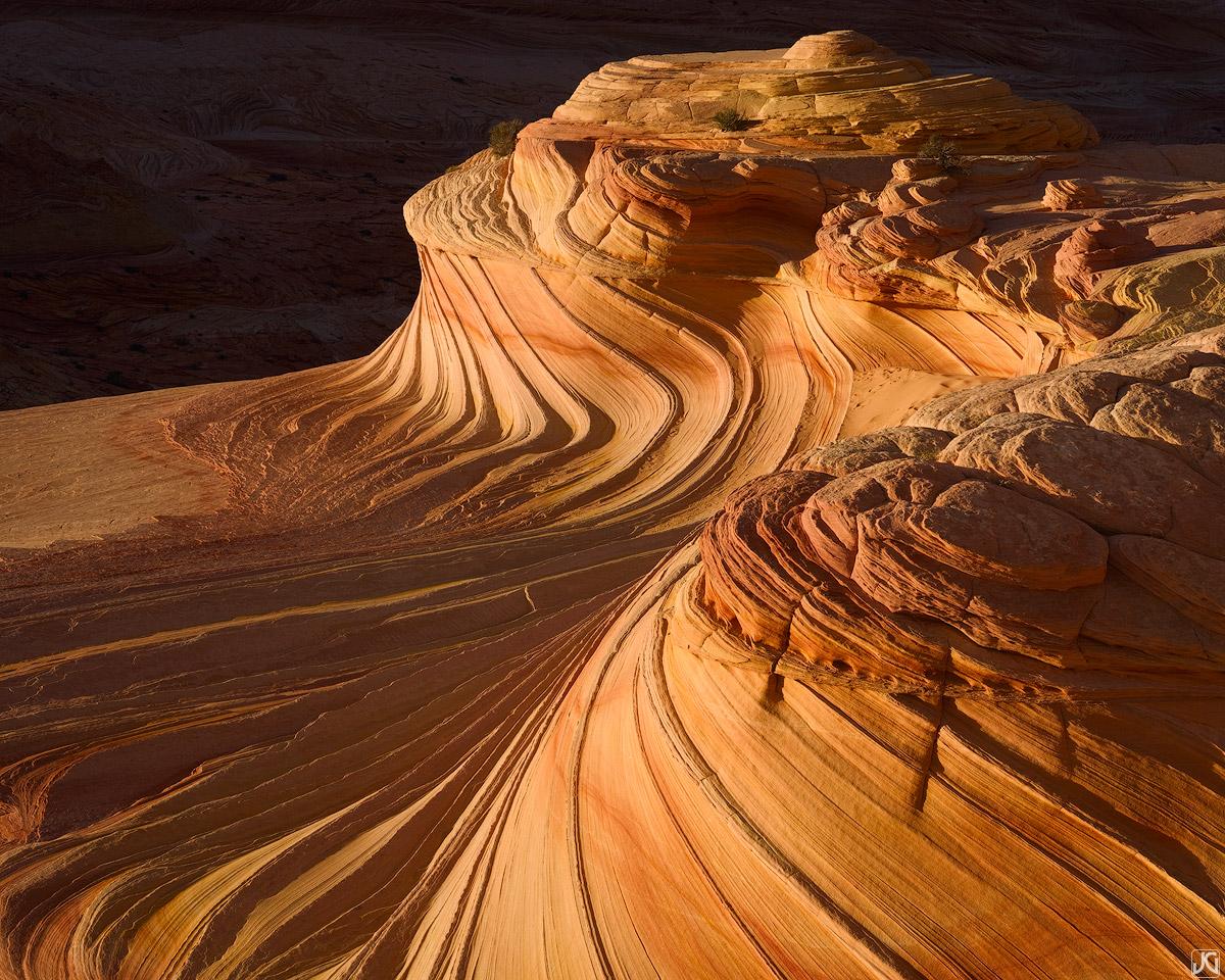 Utah, Arizona, The Wave, Second Wave, sandstone, photo