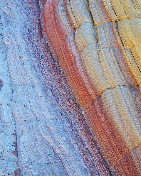 Unique sandstone formations of Utah's Yellow Rock.