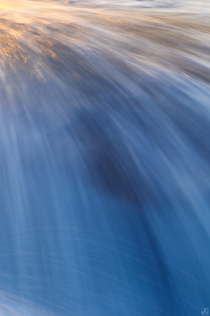 California, tide, La Jolla, waterfalls, sunset, photo
