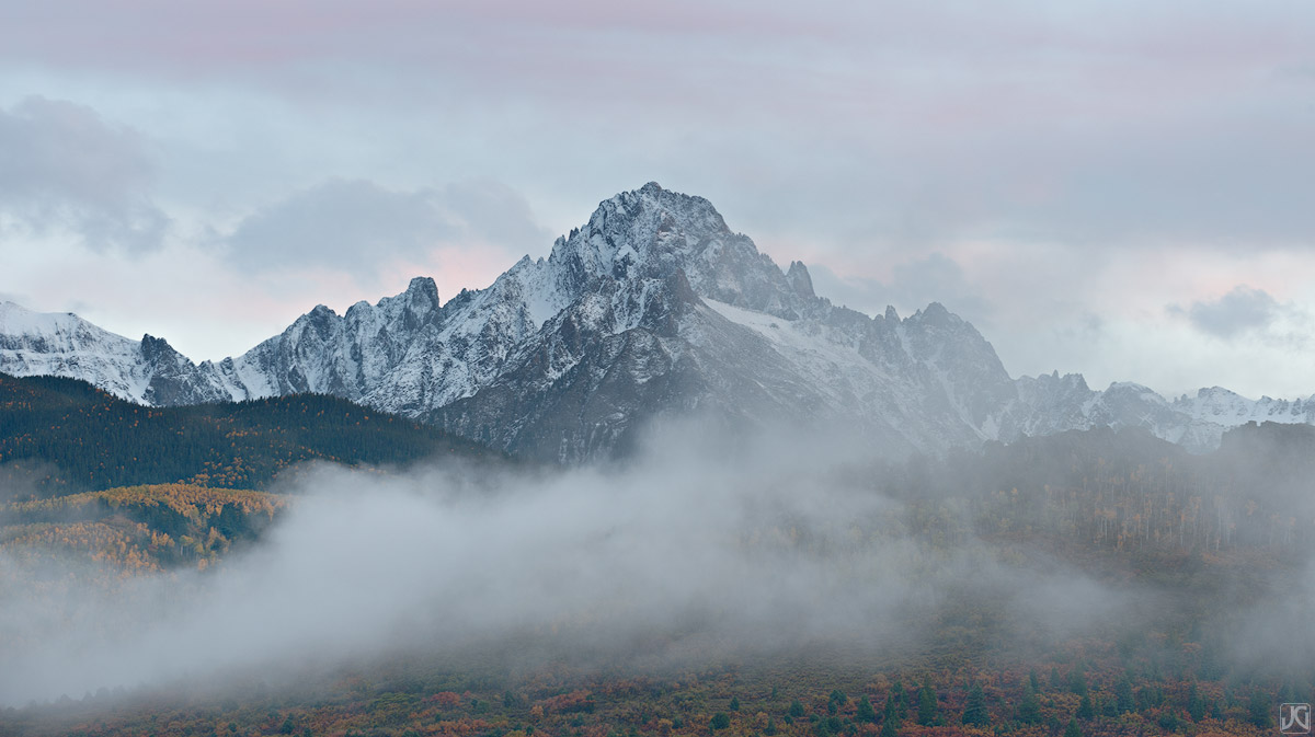 Colorado, aspen, mt. sneffels, autumn, tree, fall