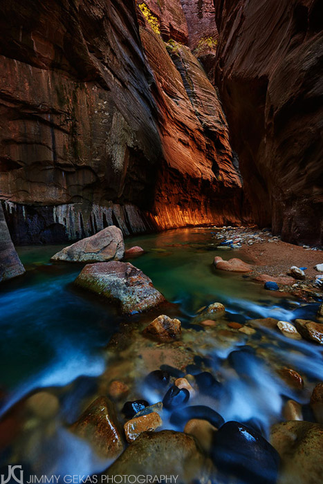 Utah, Zion, Narrows, slot canyon, Virgin, river, photo