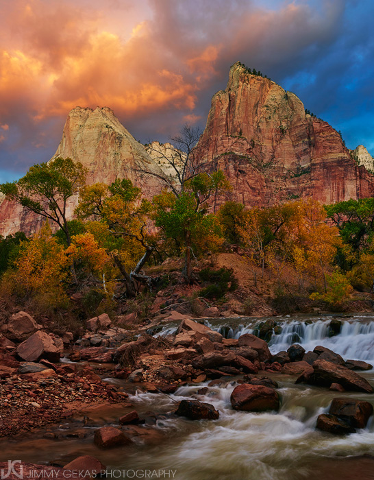 Utah, Zion, fall, autumn, photo