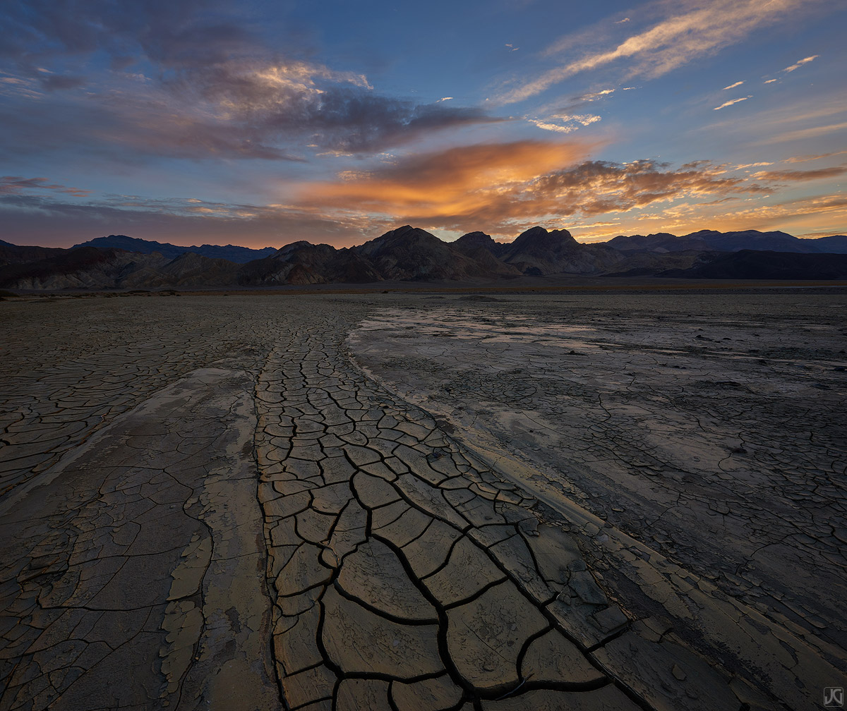 california, death valley, desert, playa, mud, photo