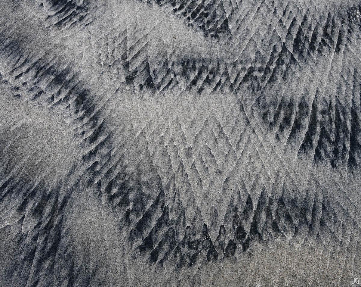 California, sand, beach, patterns, blanket, photo