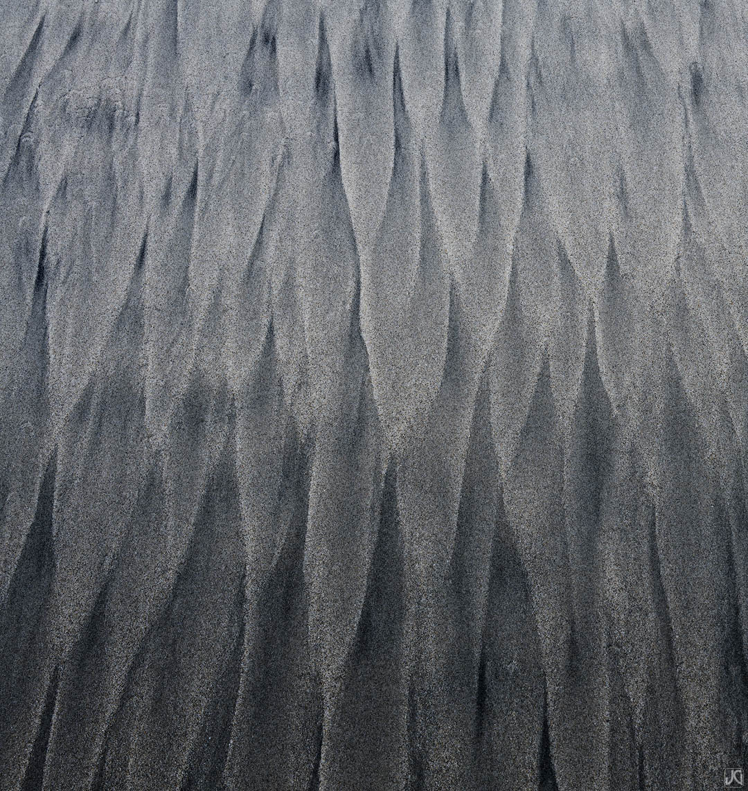 California, sand, beach, sea, patterns, photo