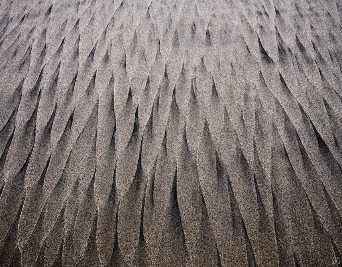 California, sand, beach, sea, patterns, photo